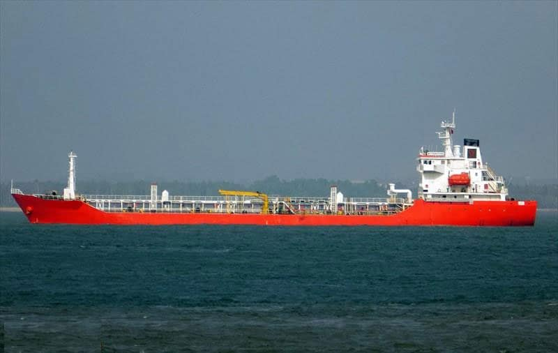 Chemical tanker IMO Class II, 8000 DWT