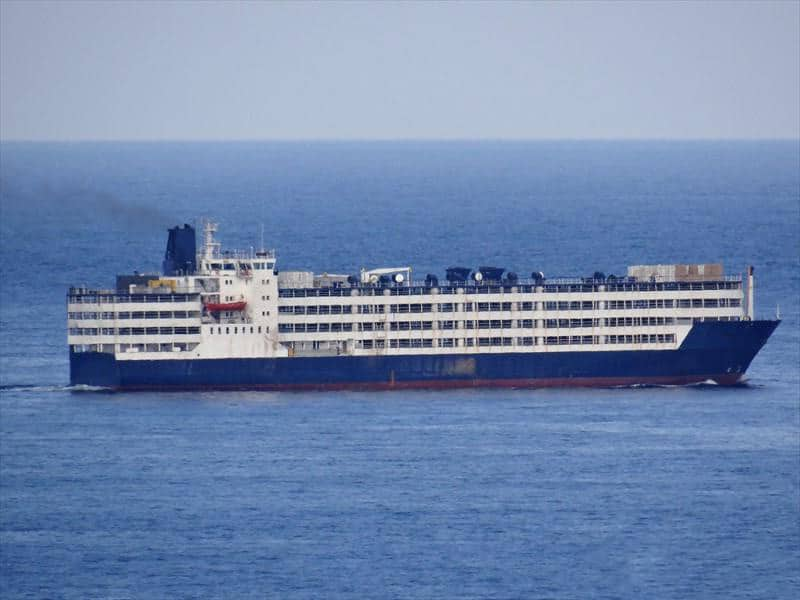 Container ship 1981 dwt 8594