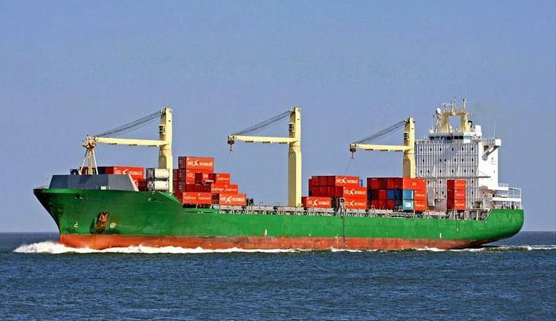 Container ship 2000 dwt 33899 photo