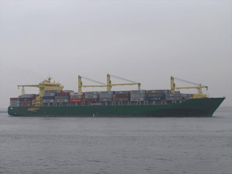 Container ship 2011 dwt 41411