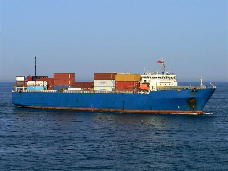 Container ship 1992 dwt 5334 photo