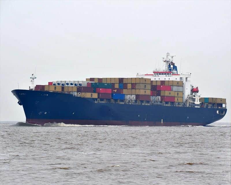 Container ship 1995 dwt 35534