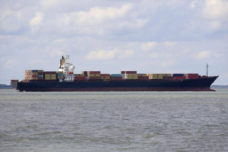 Container ship 2003 dwt 43093