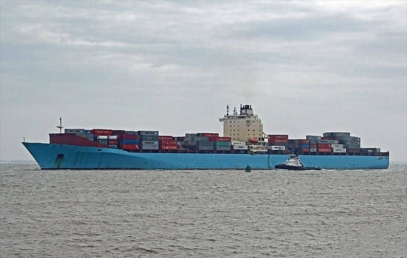 Container ship 2006 dwt 53700