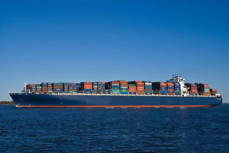 Container ship 2010 dwt 131236