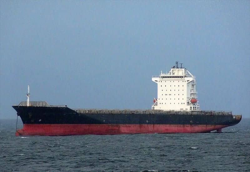 Container ship 2010 dwt 50157