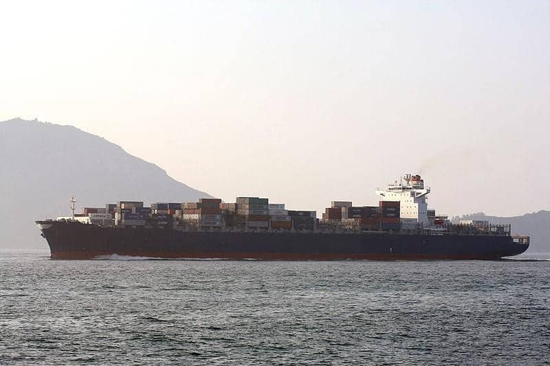 Container ship 2010 dwt 83318