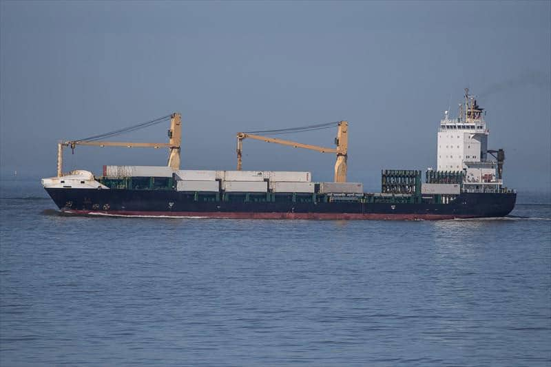 Container ship 2011 dwt 11500 photo