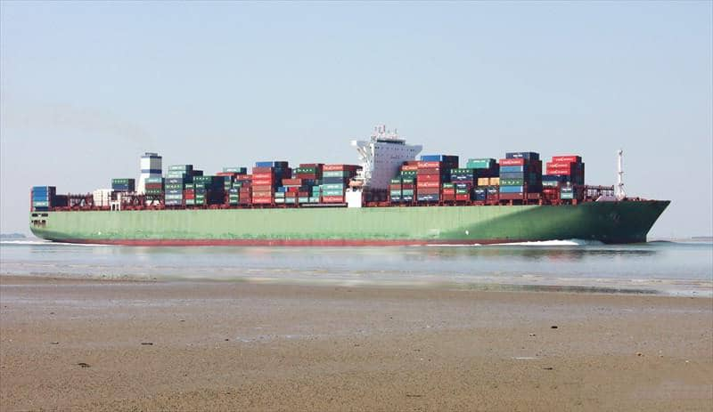 Container ship 2011 dwt 155480