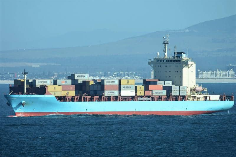 Container ship 2011 dwt 25500 photo