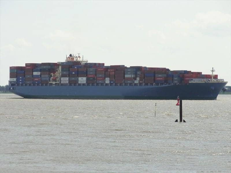 Container ship 2011 dwt 79283