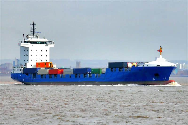Container ship 2011 dwt 9350 photo