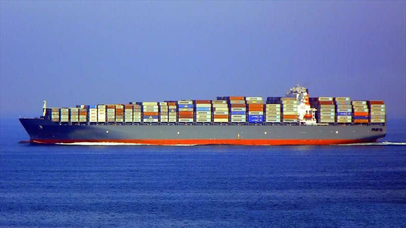 Container ship 2011 dwt 94600